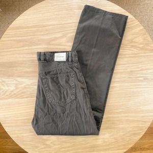 ERMENGILDO ZEGNA Twill 5 Pocket Chino Pant 34 x 32